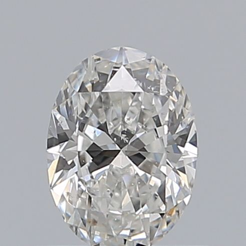 0.50 Carat Oval Loose Diamond, F, SI2, Super Ideal, GIA Certified