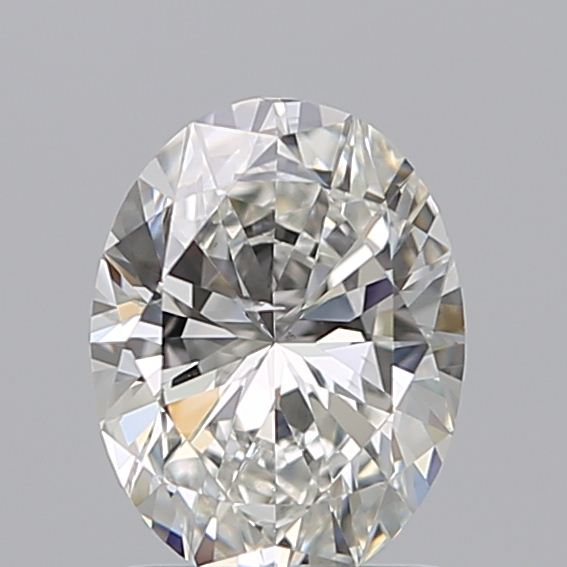 1.20 Carat Oval Loose Diamond, H, SI1, Ideal, GIA Certified