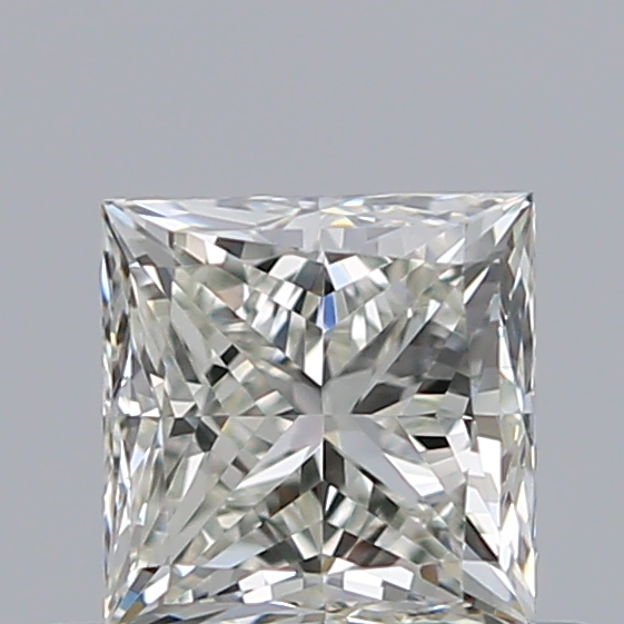 0.51 Carat Princess Loose Diamond, K, VVS1, Ideal, GIA Certified