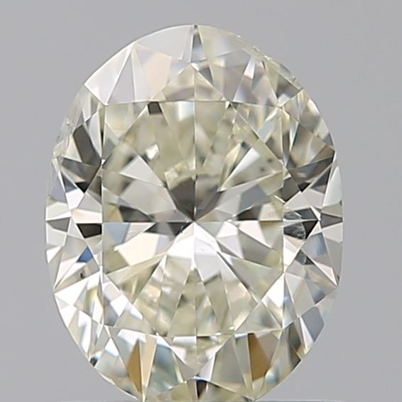 0.70 Carat Oval Loose Diamond, L, SI2, Ideal, GIA Certified