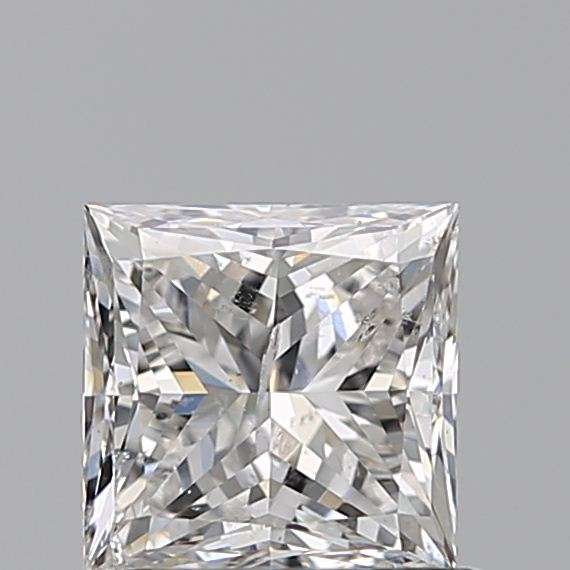 0.70 Carat Princess Loose Diamond, F, SI2, Super Ideal, GIA Certified