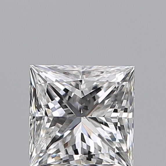 0.75 Carat Princess Loose Diamond, F, SI2, Ideal, GIA Certified