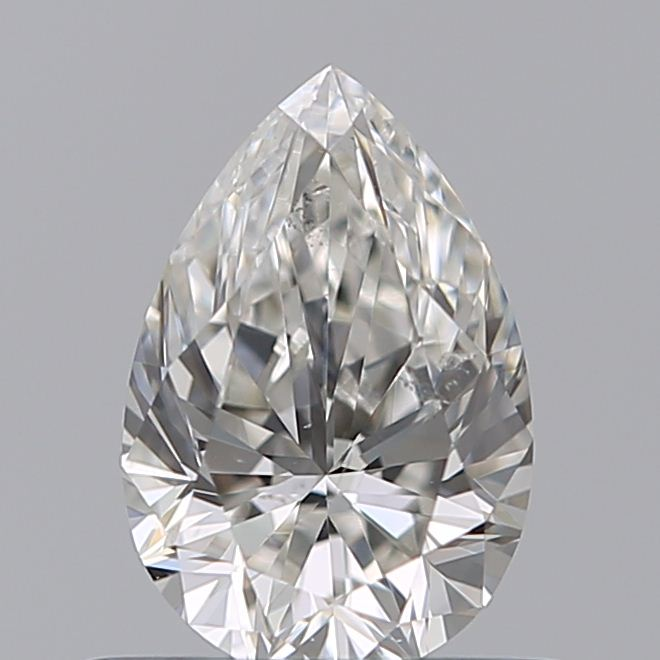 0.50 Carat Pear Loose Diamond, H, SI1, Super Ideal, GIA Certified | Thumbnail