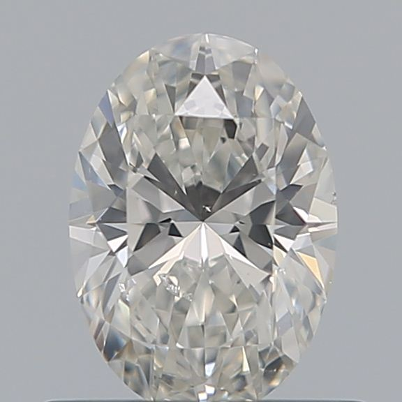0.50 Carat Oval Loose Diamond, G, SI1, Super Ideal, GIA Certified