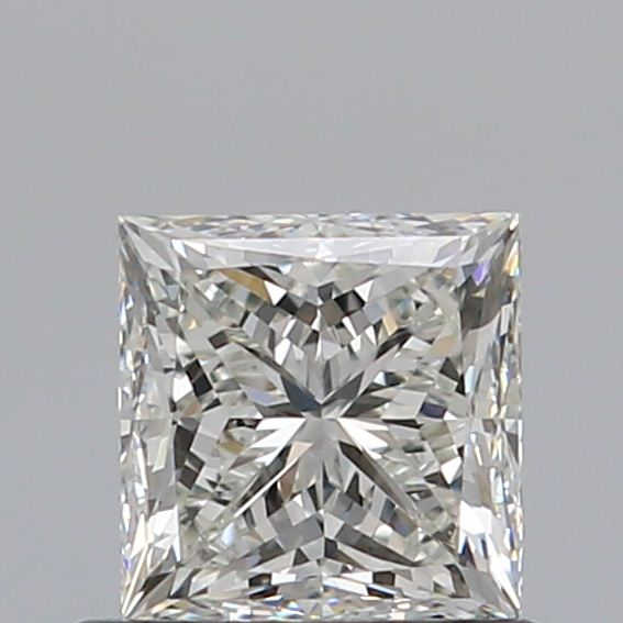 0.70 Carat Princess Loose Diamond, J, VS1, Ideal, GIA Certified