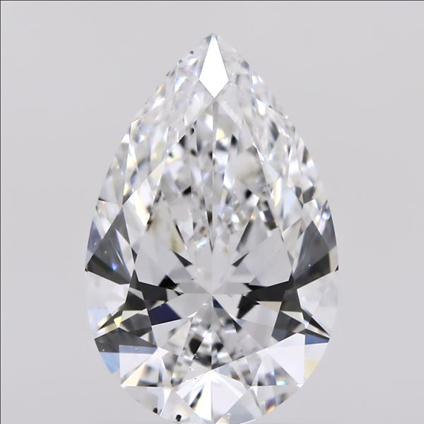 1.01 Carat Pear Loose Diamond, D, VS2, Super Ideal, GIA Certified | Thumbnail