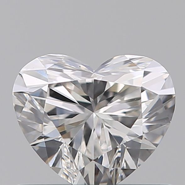 0.51 Carat Heart Loose Diamond, E, VS1, Super Ideal, GIA Certified