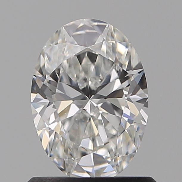 0.80 Carat Oval Loose Diamond, D, VS2, Super Ideal, GIA Certified