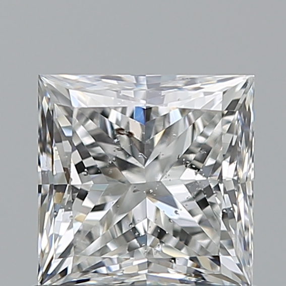 0.80 Carat Princess Loose Diamond, F, SI2, Ideal, GIA Certified | Thumbnail