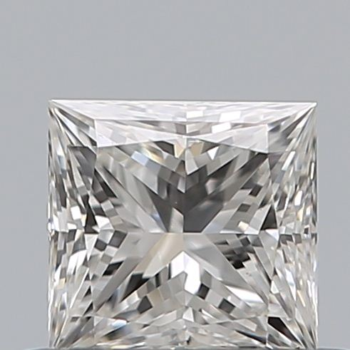 0.42 Carat Princess Loose Diamond, F, VS1, Ideal, GIA Certified