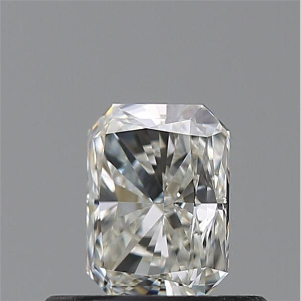 0.55 Carat Radiant Loose Diamond, J, VS1, Super Ideal, GIA Certified