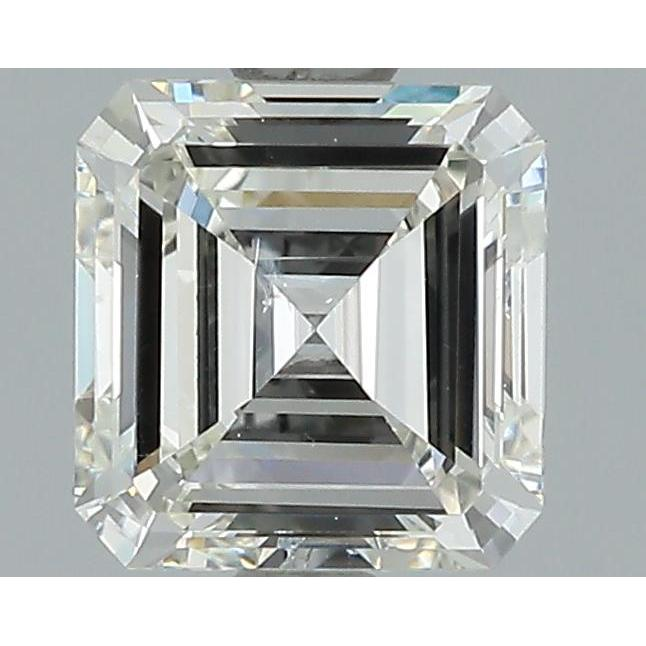 0.90 Carat Asscher Loose Diamond, I, SI1, Very Good, GIA Certified