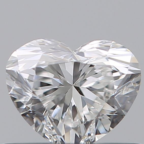 0.40 Carat Heart Loose Diamond, F, VS1, Super Ideal, GIA Certified