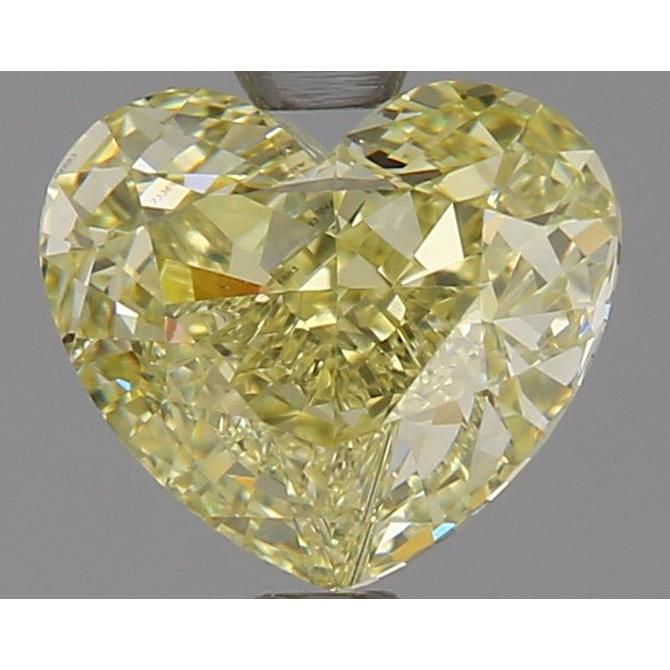 1.38 Carat Heart Loose Diamond, , IF, Super Ideal, GIA Certified