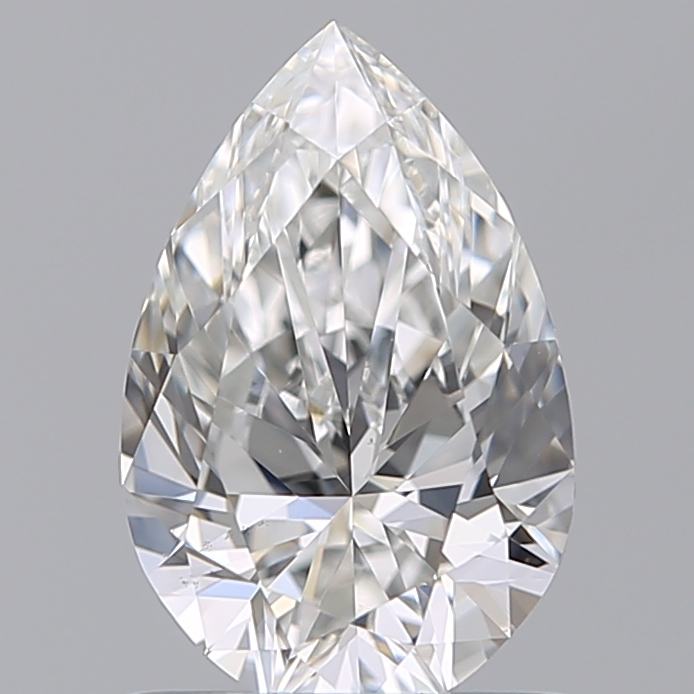 0.81 Carat Pear Loose Diamond, G, VS2, Super Ideal, GIA Certified