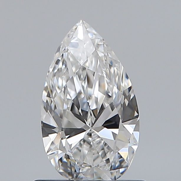 0.70 Carat Pear Loose Diamond, F, VS2, Ideal, GIA Certified