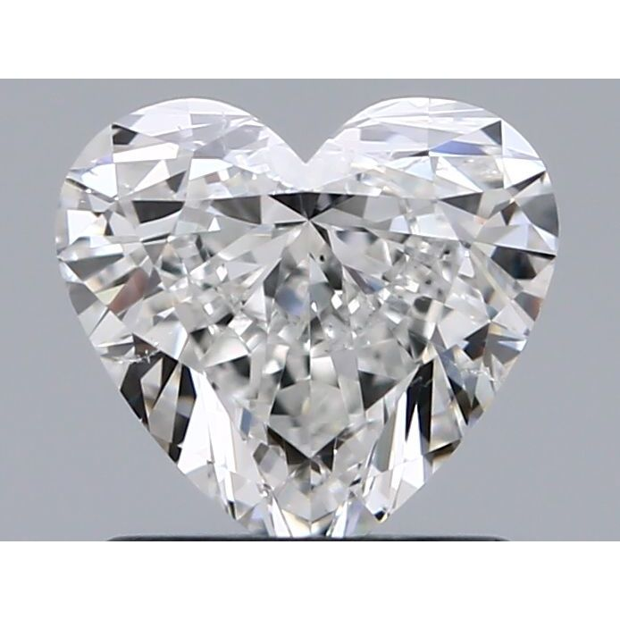 0.90 Carat Heart Loose Diamond, G, SI1, Ideal, GIA Certified | Thumbnail