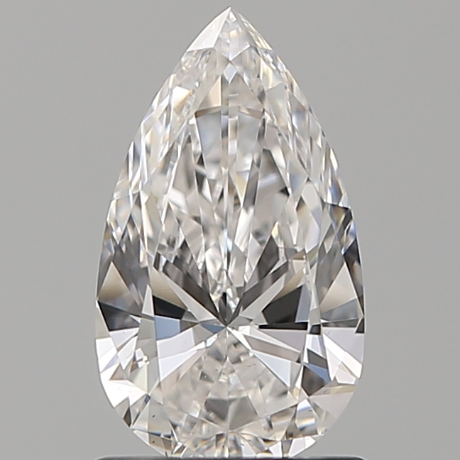 1.00 Carat Pear Loose Diamond, F, VS2, Super Ideal, GIA Certified