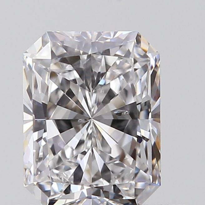 0.50 Carat Radiant Loose Diamond, D, SI1, Super Ideal, GIA Certified