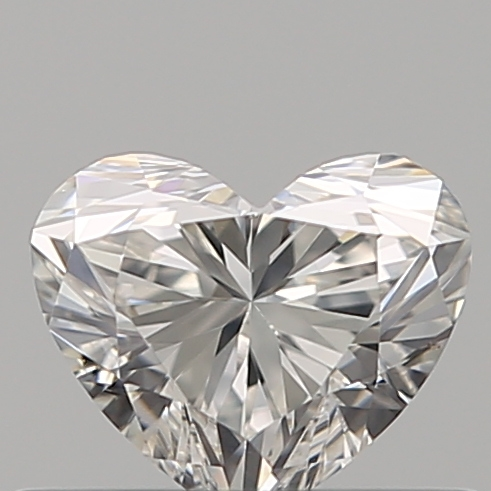 0.35 Carat Heart Loose Diamond, G, VS1, Ideal, GIA Certified