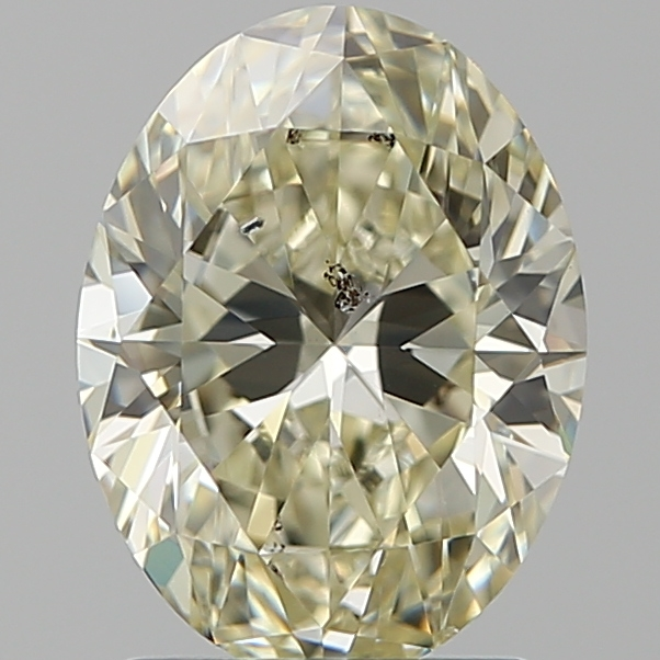 1.70 Carat Oval Loose Diamond, N, SI2, Super Ideal, GIA Certified