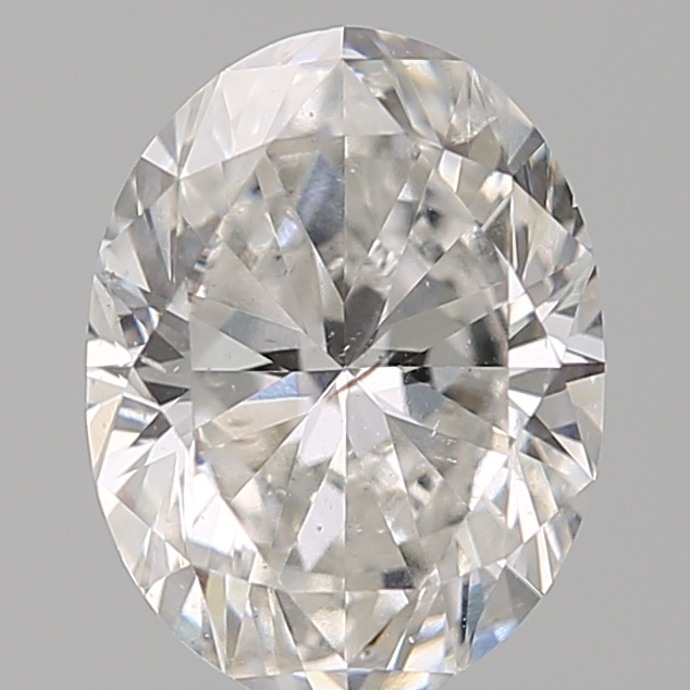 0.90 Carat Oval Loose Diamond, F, SI2, Ideal, GIA Certified | Thumbnail