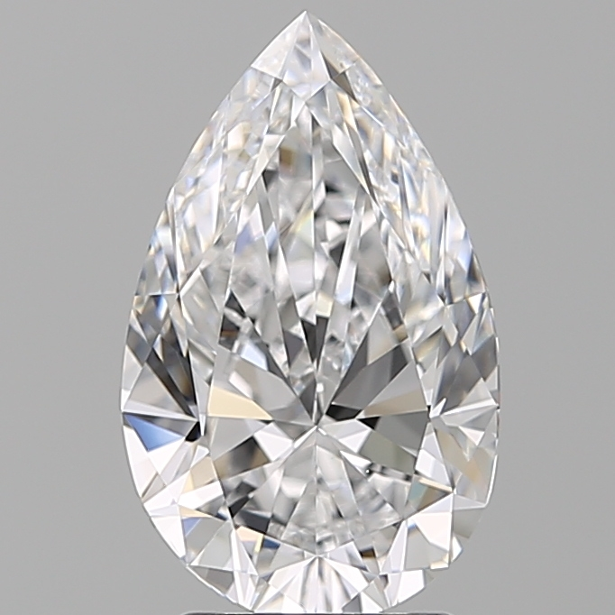 2.50 Carat Pear Loose Diamond, D, VS1, Super Ideal, GIA Certified