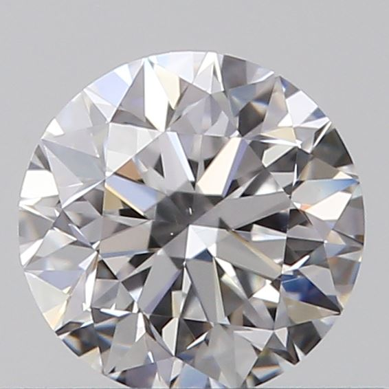 0.40 Carat Round Loose Diamond, D, VS1, Excellent, GIA Certified