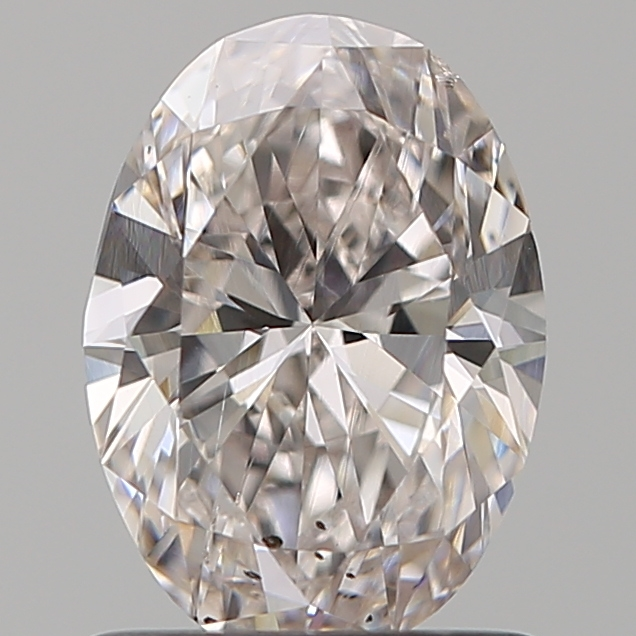 1.00 Carat Oval Loose Diamond, FANCY, SI1, Ideal, GIA Certified