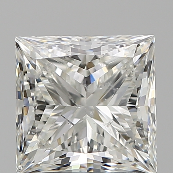 2.00 Carat Princess Loose Diamond, H, SI2, Super Ideal, GIA Certified