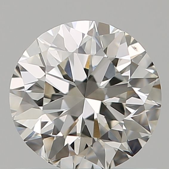 0.70 Carat Round Loose Diamond, I, SI1, Excellent, GIA Certified