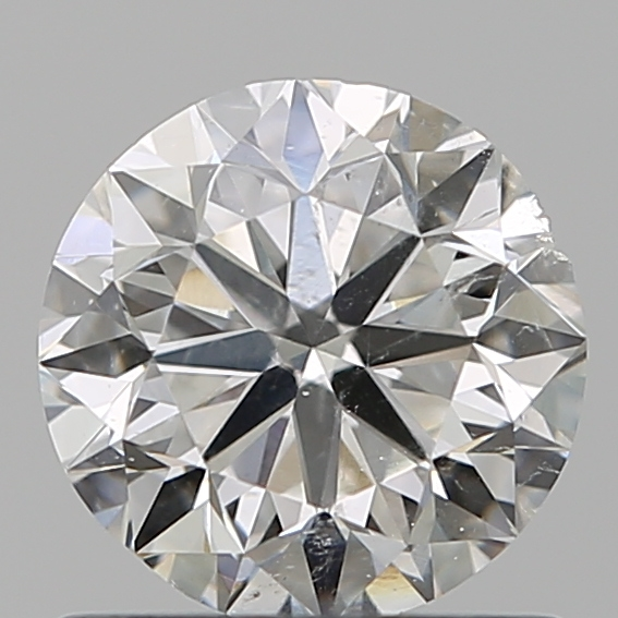 0.90 Carat Round Loose Diamond, F, SI2, Excellent, GIA Certified