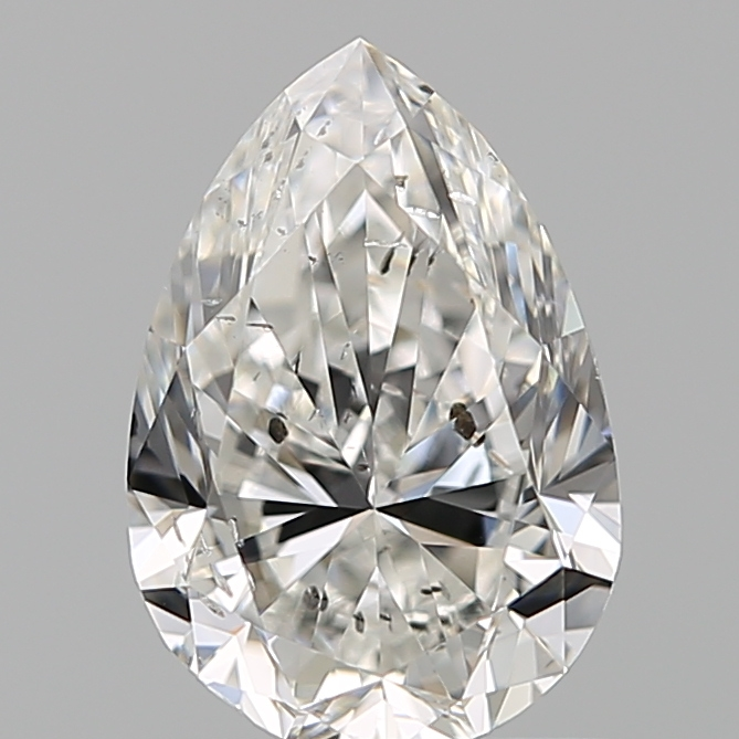 1.00 Carat Pear Loose Diamond, G, I1, Excellent, GIA Certified