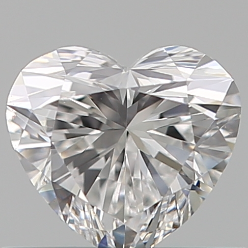 0.42 Carat Heart Loose Diamond, D, VS1, Super Ideal, GIA Certified