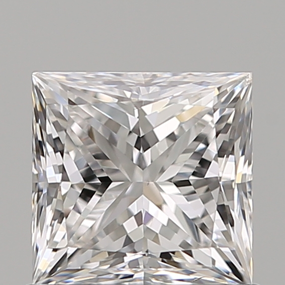 0.75 Carat Princess Loose Diamond, D, SI1, Super Ideal, GIA Certified
