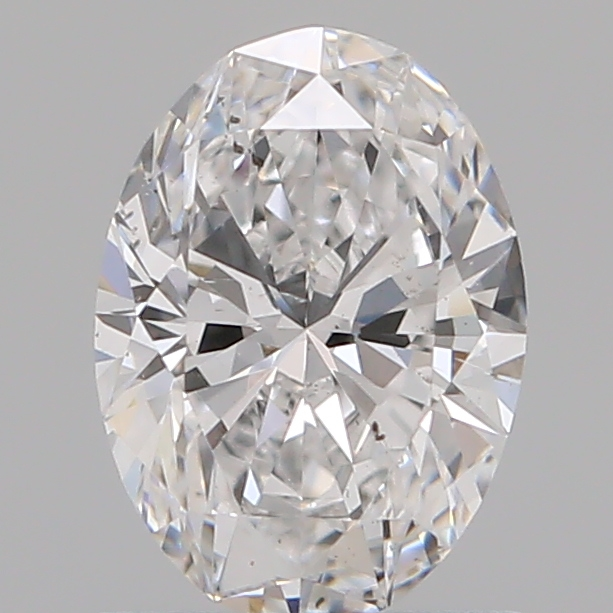 0.90 Carat Oval Loose Diamond, D, SI1, Super Ideal, GIA Certified | Thumbnail