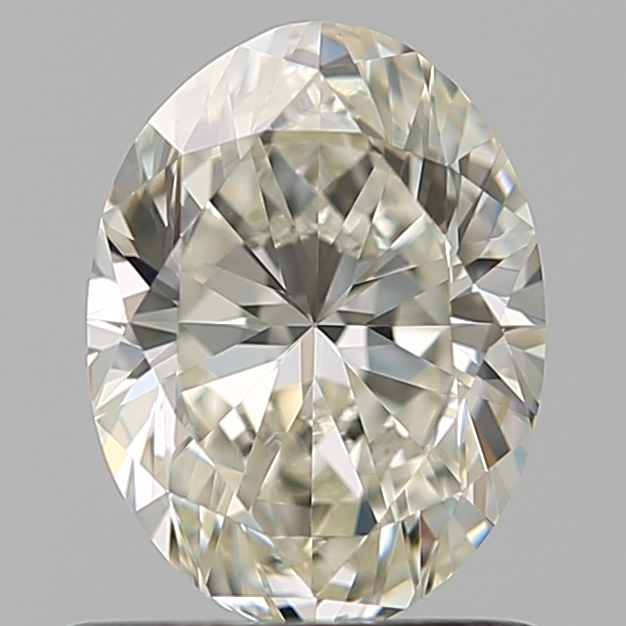 0.80 Carat Oval Loose Diamond, K, VS1, Ideal, GIA Certified | Thumbnail