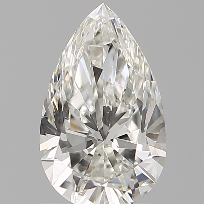 0.75 Carat Pear Loose Diamond, G, SI1, Super Ideal, GIA Certified