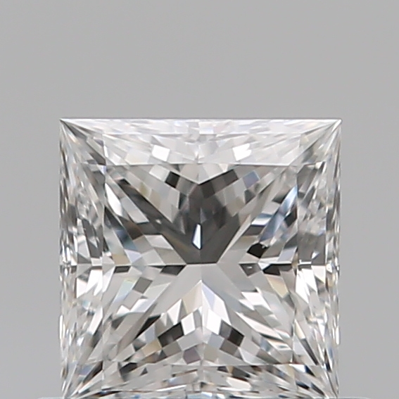 0.53 Carat Princess Loose Diamond, E, VS1, Super Ideal, GIA Certified