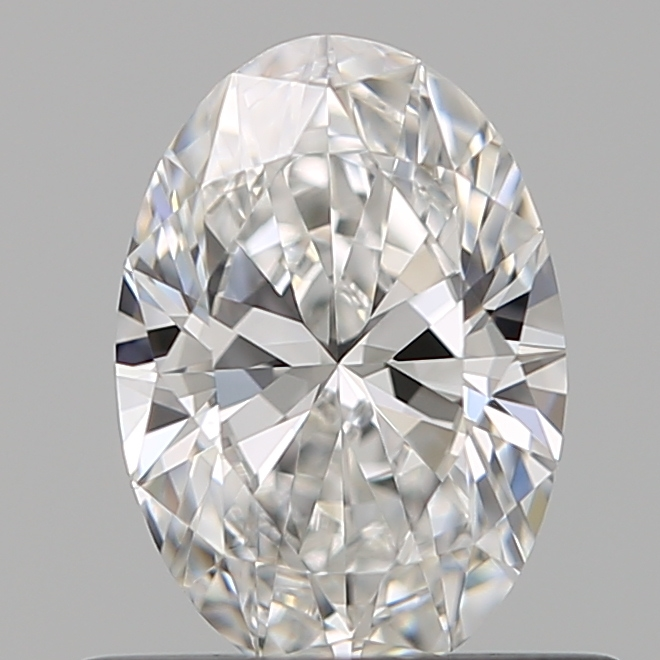 0.56 Carat Oval Loose Diamond, E, VVS2, Super Ideal, GIA Certified