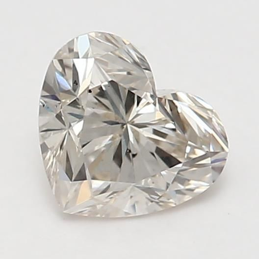 0.50 Carat Heart Loose Diamond, M, SI1, Super Ideal, GIA Certified