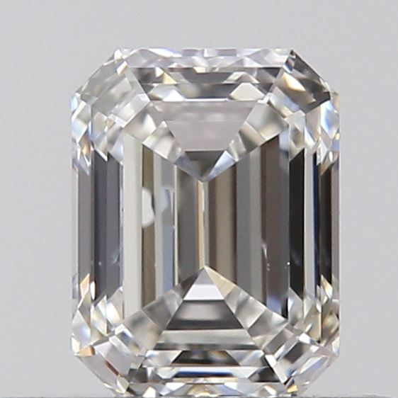 0.40 Carat Emerald Loose Diamond, G, VS2, Ideal, GIA Certified | Thumbnail