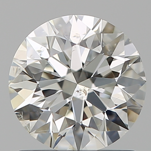 1.01 Carat Round Loose Diamond, J, SI2, Super Ideal, GIA Certified