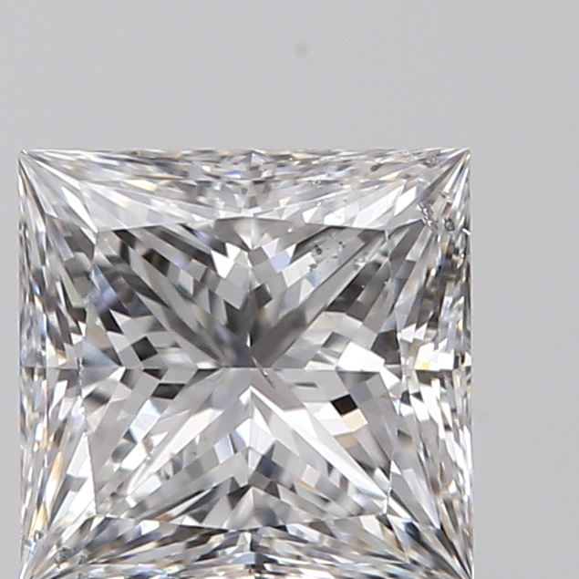 0.60 Carat Princess Loose Diamond, E, SI2, Super Ideal, GIA Certified