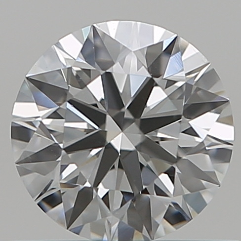 0.54 Carat Round Loose Diamond, G, VS2, Super Ideal, GIA Certified
