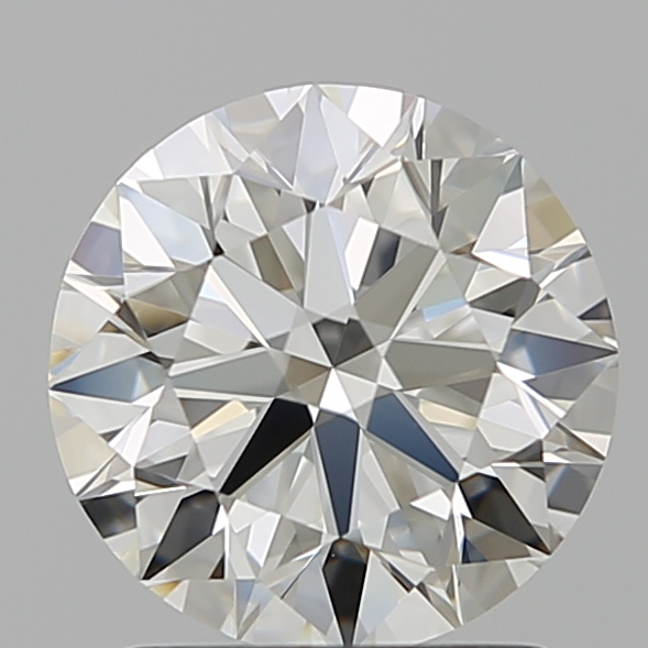 1.51 Carat Round Loose Diamond, I, VVS1, Super Ideal, GIA Certified