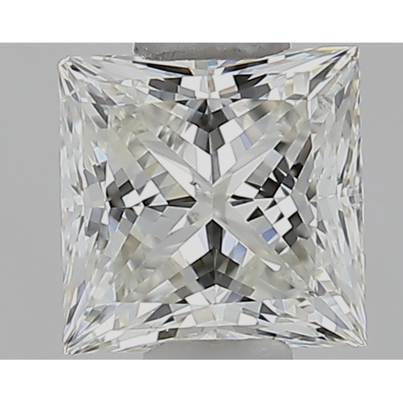 0.50 Carat Princess Loose Diamond, I, SI1, Super Ideal, GIA Certified