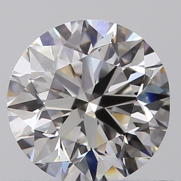 0.51 Carat Round Loose Diamond, F, VS1, Excellent, GIA Certified