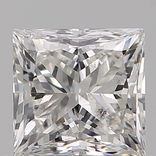 0.70 Carat Princess Loose Diamond, G, SI2, Ideal, GIA Certified