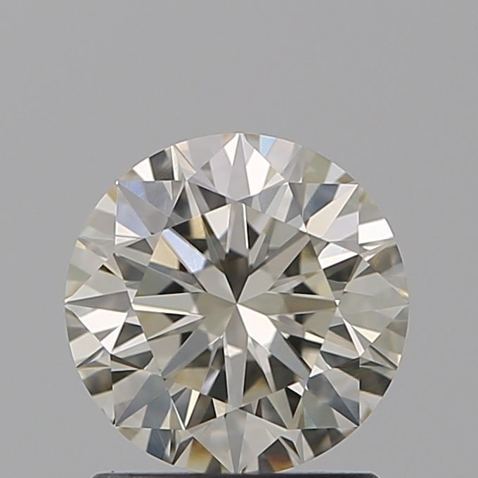 1.08 Carat Round Loose Diamond, L, VVS1, Super Ideal, GIA Certified